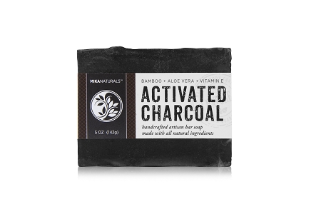 ACTIVATED CHARCOAL & ALOE VERA BAR SOAP