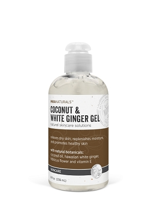 COCONUT & WHITE GINGER GEL