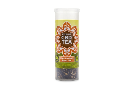 PEACHY GINGER BLACK TEA