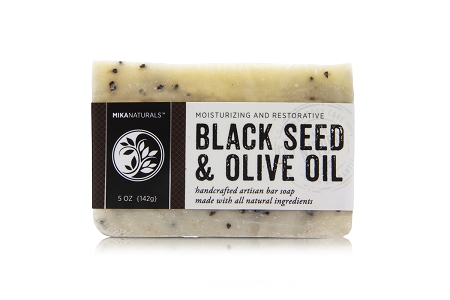 BLACK SEED & OLIVE OIL BAR SOAP