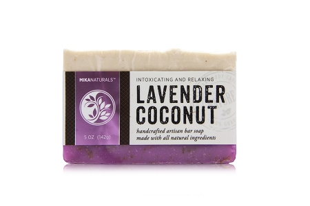 LAVENDER COCONUT BAR SOAP