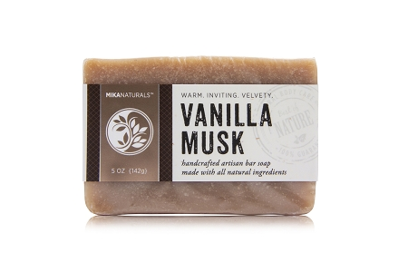 VANILLA MUSK BAR SOAP
