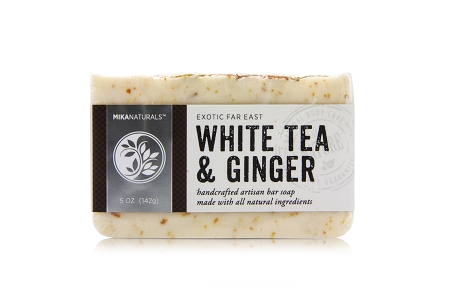 WHITE TEA & GINGER BAR SOAP