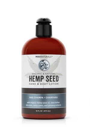 NAG CHAMPA HEMP SEED HAND & BODY LOTION