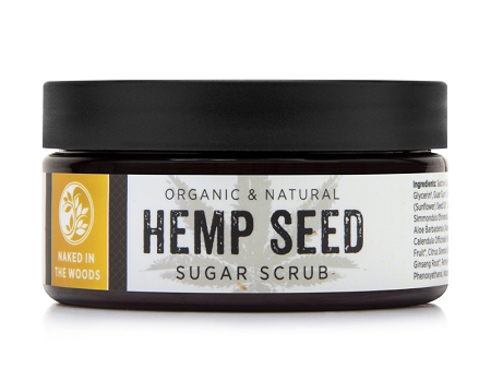 NAKED IN THE WOODS HEMP SEED SUGAR SCRUB