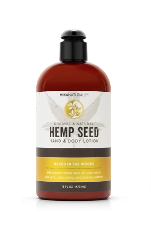 NAKED IN THE WOODS HEMP SEED HAND & BODY LOTION