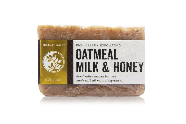OATMEAL, MILK & HONEY BAR SOAP