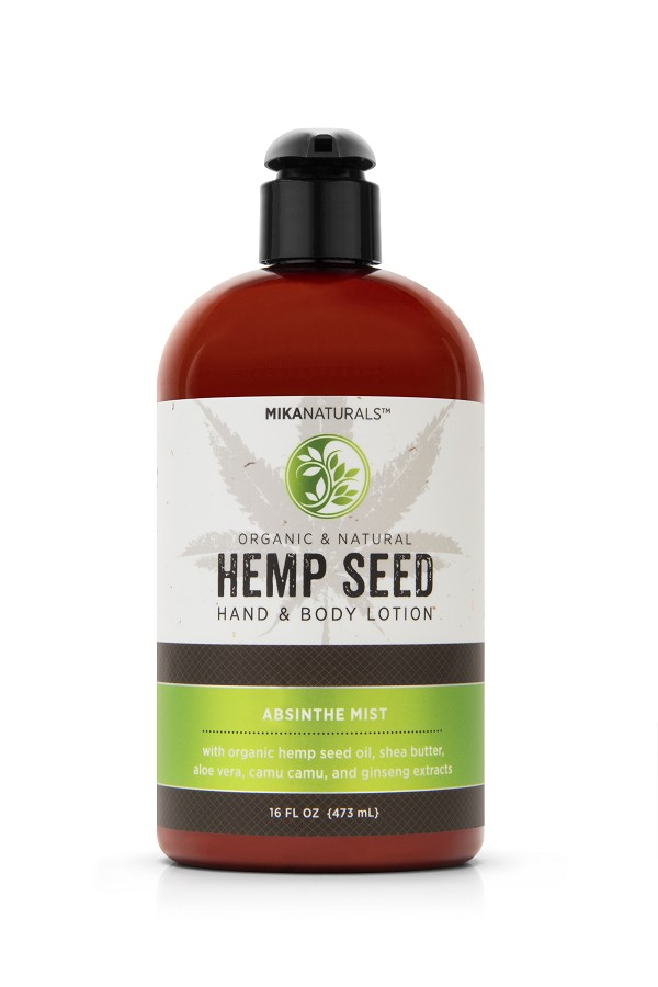 ABSINTHE MIST HEMP SEED HAND & BODY LOTION