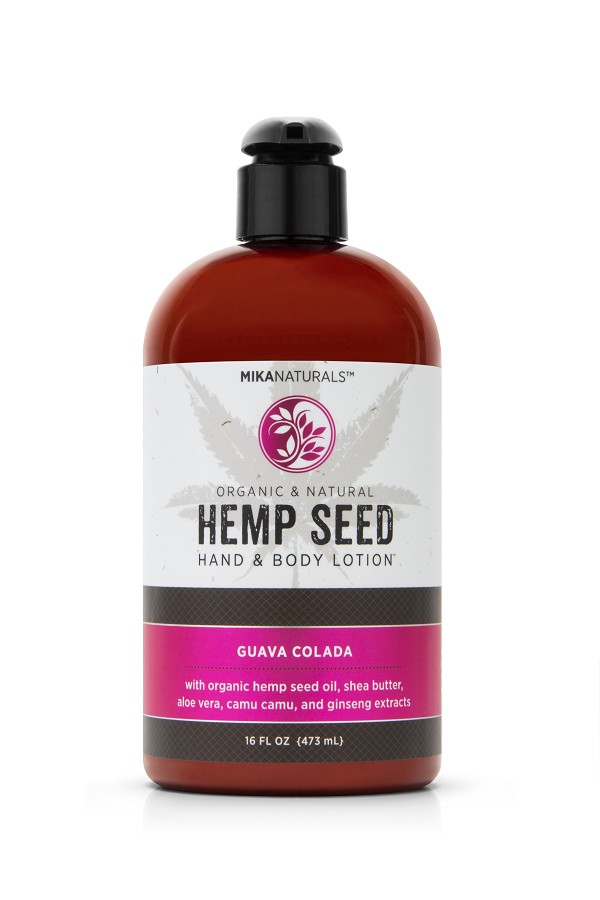 GUAVA COLADA HEMP SEED HAND & BODY LOTION